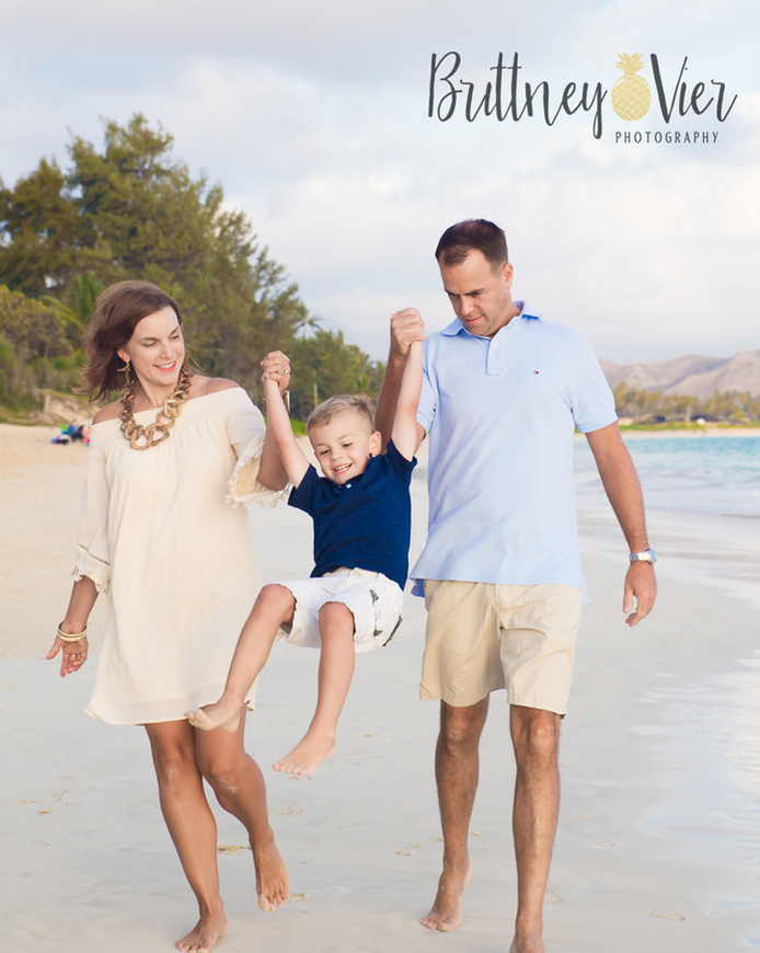 Oahu Family Photographer | Family Beach Session