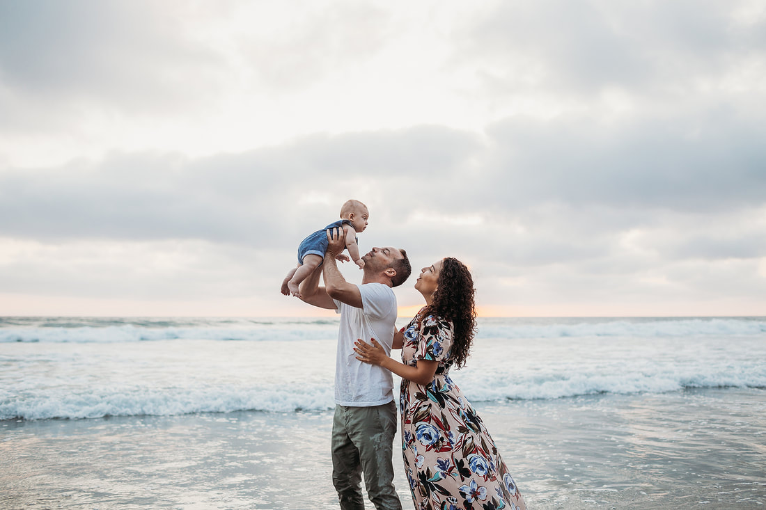 Torrey Pines family photo session | www.brittneyvierphotography.com