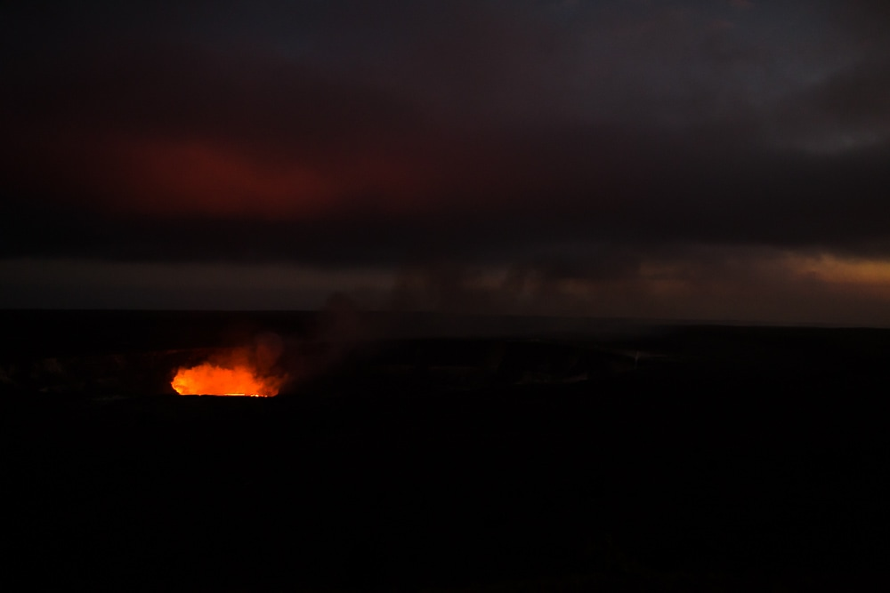 Lava Glow | Big Island Hawaii family vacation